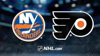 Provorov, Couturier lead Flyers past Islanders, 6-4