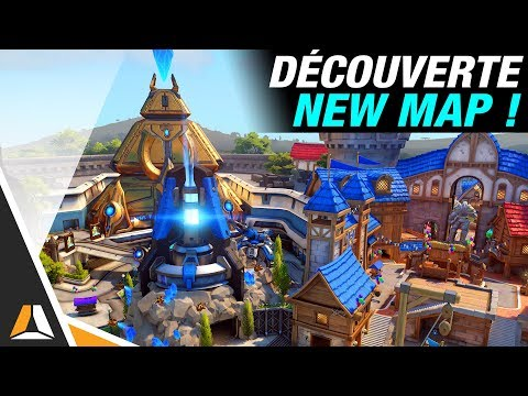 Présentation de la nouvelle Map : Blizzard World ► Overwatch avec Locklear
