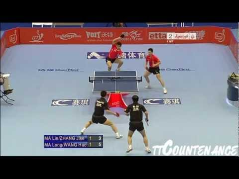 Pro Tour Grand Finals: Ma Lin Zhang Jike-Ma Long Wang Hao