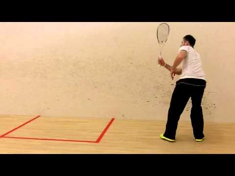New Dunlop Biomimetic Elite-GTS 2014 Squash Racket Review by PDHSports.com