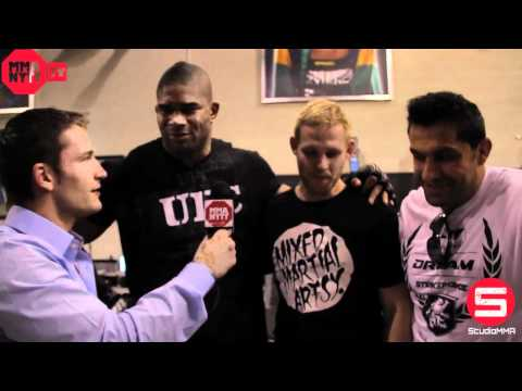 UFC 141 - Prefight Interview with Alistair Overeem