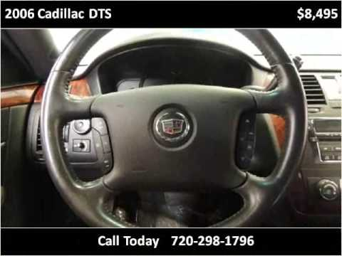 2006 Cadillac DTS Used Cars Commerce City, Denver CO