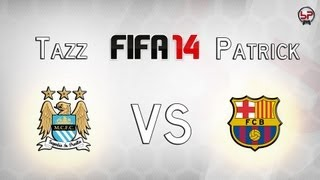 FIFA 14 Full Gameplay Manchester City Vs FC Barcelona