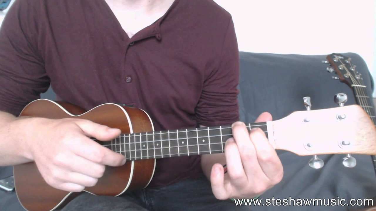 How to play Ugly Heart - G.R.L. on Ukulele (Lesson/Tutorial) - YouTube