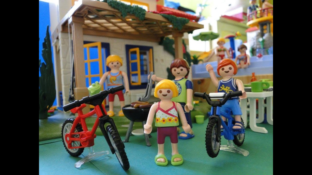 Playmobil maison youtube for Chambre playmobil