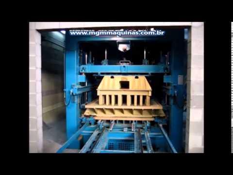 Maquina de fabricar bloco hidraulica MGM 19-4042-1211