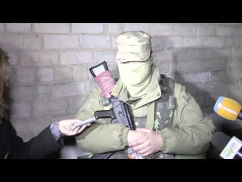 В ходе антитеррористической операции освобожден аэропорт в Краматорске, 1 часть