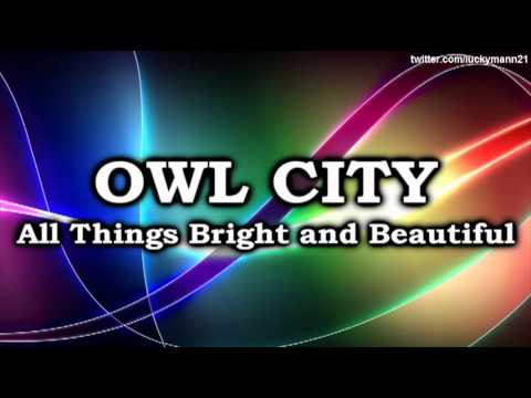 Owl City - Dreams Don't Turn To Dust (All Things Bright and Beautiful Album) Full Song 2011, Artist: Owl City Song: Dreams Don't Turn To Dust Genres: Electronica, Synthpop, Pop, Christian Music Album: All Things Bright and Beautiful (2011) Record Lab...