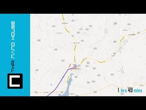 แผนที่การเดินทางไป โรงงาน ไทยนาโน(Thai Nano Factory's Map)
