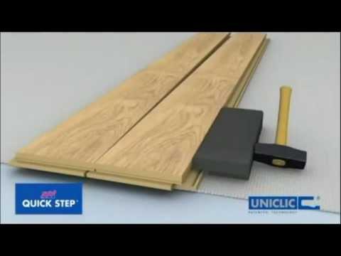 ff Uniclic Kako montirati gotovi parket ili laminate