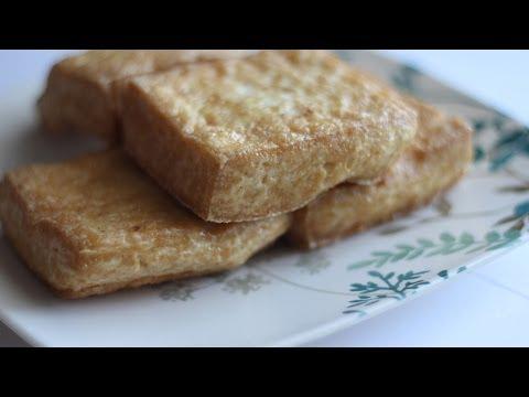 Cach Chien Dau Hu (How to Fry Tofu)