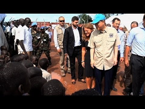 UN chief in war-torn South Sudan to push for peace