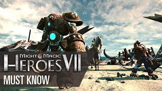Might & Magic Heroes VII - Combat, fractions and game modes