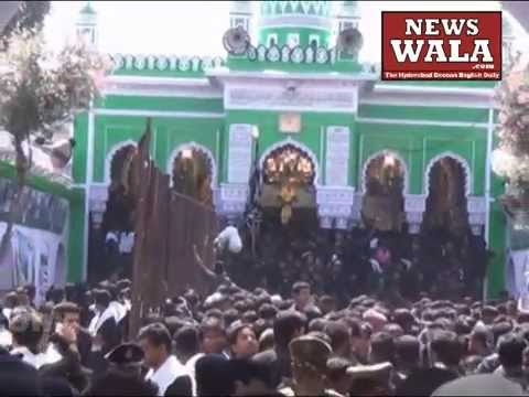 Bibi Ka Alam on Youm E Aashoora from Bibi Ka Alawa to Chaderghat on Muharram 2014