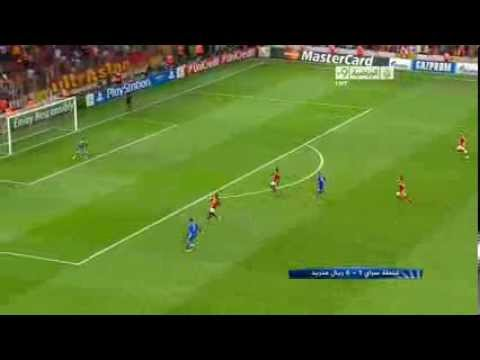 Cristiano Ronaldo scores a beautiful goal against Galatasaray ,Champions league