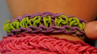 VIDEO INSTRUCTIONS: How To Make A Center Swirl Rubber Band