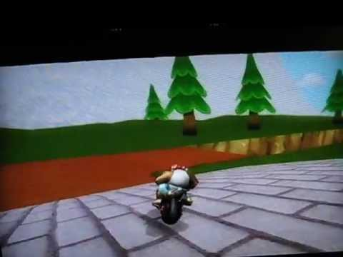 [MKW former WR/BKT] Bouncy Farm - 1.54.487 (w/ bowser bike) - crss