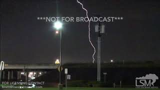 6-23-19 Dallas/Fort Worth, TX- Damaging Winds, Numerous Close Lightning Strikes, and Heavy Rain