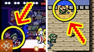 10 Popular Video Games That LUIGI Broke Into