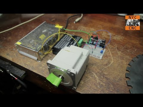 Driving Big Stepper Motors with Arduino