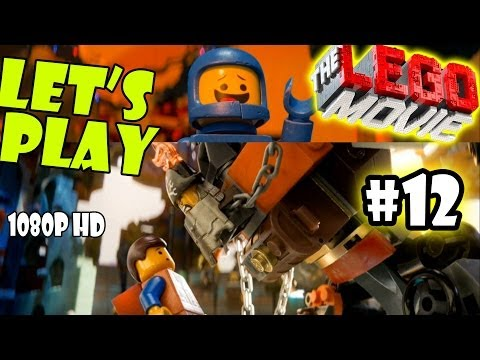 Let[ES][SQ]s Play LEGO Movie - Part 12: Attack on Cloud Cuckoo Land w/ Monster UniKitty | Walkthrough
