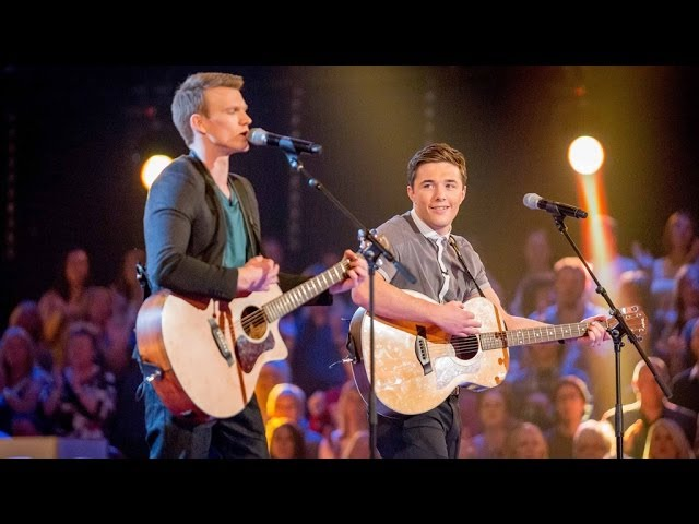 Myles Evans Vs Max Murphy: Battle Performance - The Voice UK 2014 - BBC One