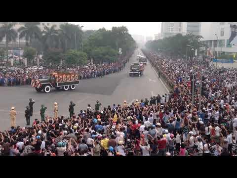 Vĩnh Biệt Đại Tướng Võ Nguyên Giáp.4-10-2013
