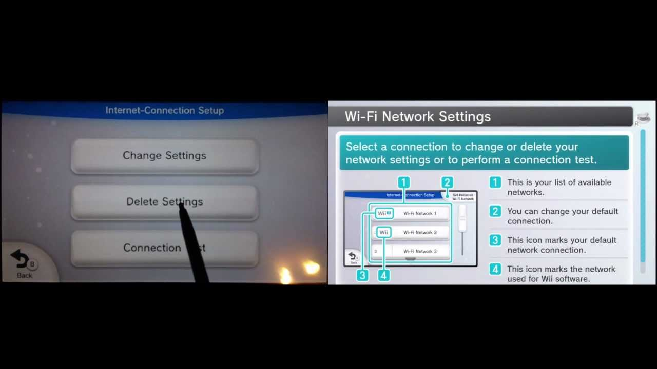 nintendo wii u wireless connection fix part 2 video tutorial youtube. Black Bedroom Furniture Sets. Home Design Ideas