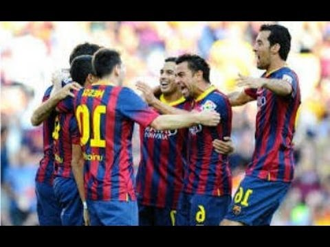 Barcelona vs. Osassuna 7~0 (2014) 16.03.2014 {All Goals & Hightlights} ~ Lionel Messi