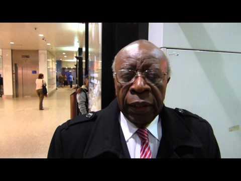 Faustin Twagiramungu à propos de la présence de Kagamé à Bruxelles