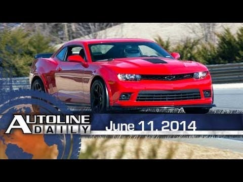 Warp Speed: 1st Drive of Camaro Z/28 - Autoline Daily 1395
