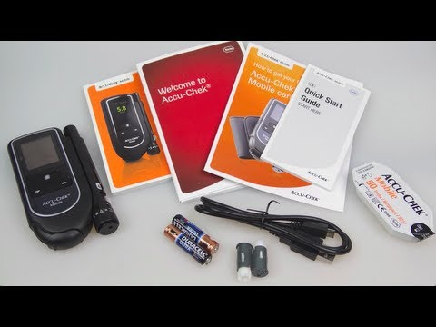 Accu-Chek Mobile - Diabetic Blood Glucose Meter Review