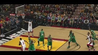 NBA 2K13 Dunking Tutorial: 360 Dunks, Between The Legs