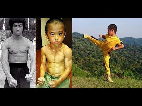 Truyền nhân Lý Tiểu Long mới 6 tuổi đã sở hữu cơ bắp 6 múi