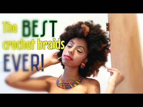 The BEST crochet braids EVER!! - YouTube