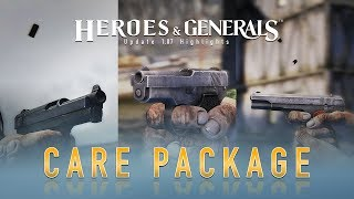 Heroes & Generals - 1.07-es Frissítés: Care Package