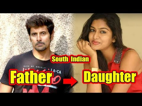Top South Indian actors and their beautiful daughters ✔