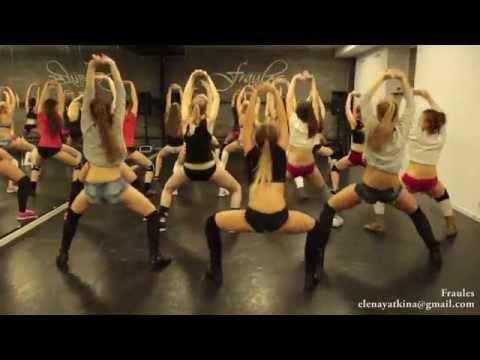 "NEW twerk choreo by DHQ Fraules – Travis Porter ""Bring it back"""