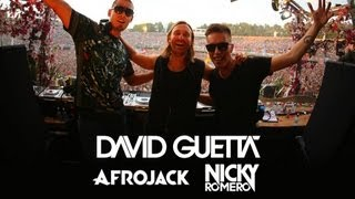 David Guetta vs Afrojack vs Nicky Romero - Live at Tomorrowland 2013