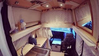 Turning A Van Into A Sweet Camper