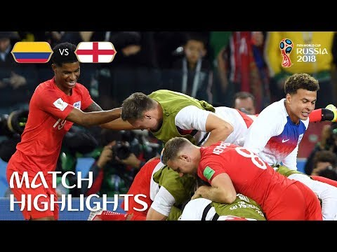 Colombia v England - 3:4