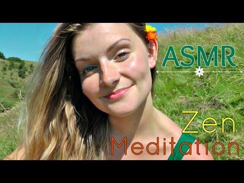 ✲ ASMR How To Meditate | Zen/Mindfulness Meditation In Nature ✲