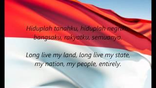"Indonesian National Anthem ""Indonesia Raya"" (ID/EN"