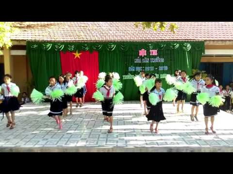 Múa mái trường nơi học bao điều hay - TH Liên Hương 4