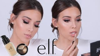 FULL FACE USING ONLY E.L.F MAKEUP TUTORIAL | ELF DID THAT!