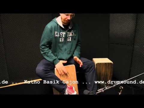 Katho Basik Cajon - www.drumxound.de