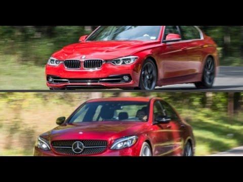 2016 BMW 340i vs. 2016 Mercedes-Benz C450 AMG