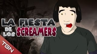 "LA FIESTA DE LOS SCREAMERS: ""GMOD DEATH HOUSE I"""