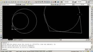 Dibujar Círculos En Autocad 2008