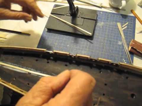 video guida per costruire un modello di veliero